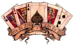 Royal Flush Tattoo