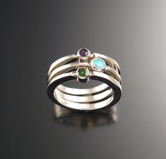Stackable Mothers ring set
