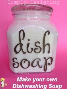 Make your own Dishwashing Soap -
