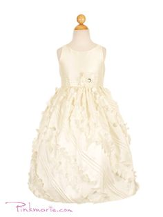 Flowergirl dresses for their uncle's wedding