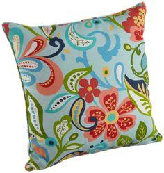 Amazon.com: Brentwood 5360 Wildwood Opel Welt Cord Outdoor Pillow, 17-Inch: Home & Kitchen