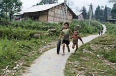 Local children, Sapa