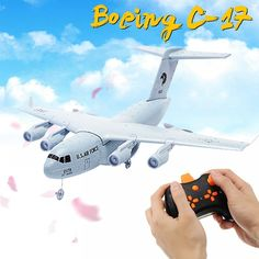 Wingspan: Transport EPP DIY RC Airplane(Glue NOT included). EPP material,lightweight and durable. The Boeing Globemaster III is a large military transport aircraft. Cargo Aircraft, Natural Disasters, Rc Cars, Troops, Transportation, Engineering, Activities, Electronics Gadgets, Bluetooth Gadgets