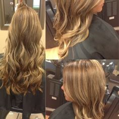 Beautiful, healthy, long hair is my favorite, especially when I get to do a multi dimensional color! #hairbykimberly