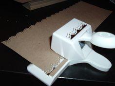 DYI wedding invites with doily wrap | DIY Entry #17: Gocco Invitation Set - Elizabeth Anne Designs: The ...