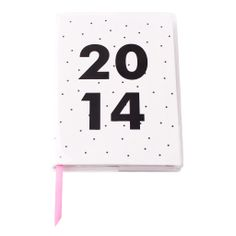 This stylish A6 Weekly Diary features fun, bold colours that will brighten your everyday. #2014 #Diary