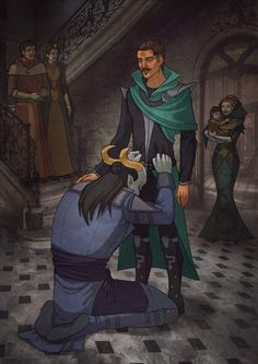 DAI Adaar and Dorian - Why did I let you go ... by Anhel1310 on DeviantArt - *Incoherent Scream* Why?!