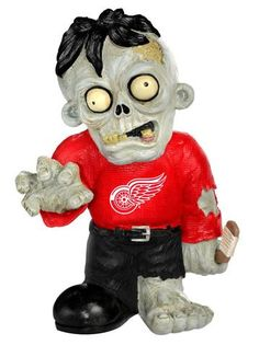 Detroit Red Wings Zombie Figurine #DetroitRedWings