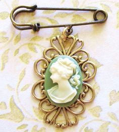My mother has a cameo very similar to this from my great-grandmother and I think they are timeless and beautiful. :)