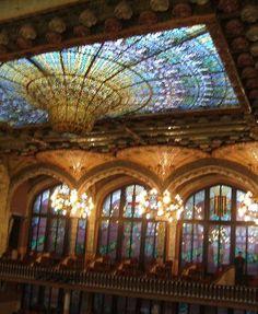 Barcelona - Palace of Catalan Music (Palau de la Musica Catalana)