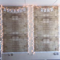 @teacherbreak's bulletin boards are simply all my favourite thaannggs! Bright white, wood & fairy lights! 😍✨🙌🏼 #iteachtoo #iteach6th… Fairy Lights, White Wood, String Lights, Classroom Decor, Bulletin Boards, Photo Wall, Fotografie, Twinkle Lights, Classroom Displays