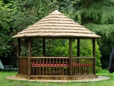 Natural Style Innovative Gazebo Roofs