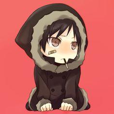 Cute Shizaya | was turned into a baby very fluffy and cute shizaya