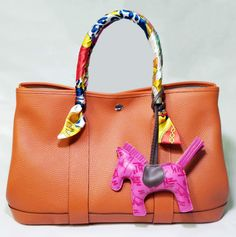 hermes garden party bag in brown $205.00 Save: 77% off