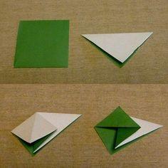 先日、幼なじみが、別の幼なじみの娘さんが作ったカワイイ折り紙を送ってくれました。 ばらのモチーフを集めたツリーです。このばらは難しいのに、ホントに器... Origami Wreath, Origami Paper Art, Modular Origami, Origami Folding, Gato Origami, Diy And Crafts, Paper Crafts, Diy Party, Scrapbooks