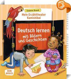 Mein Erzähltheater Kamishibai: Deutsch lernen mit Bildern und Geschichten    ::  Bildergeschichten, die mit einem Kamishibai erzählt werden, unterstützen den Erwerb einer neuen Sprache. Aufgrund der dialogischen Erzählform verfestigt sich der neu erworbene Wortschatz und es entsteht zwischen dem Erzähler und seinem Publikum eine enge Beziehung, die sich positiv auf die Lern- und Behaltensleistung auswirkt. Spielerische, musikalische und gestalterische Weiterführungen vertiefen die spra...