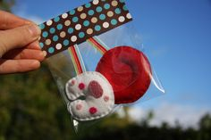 red and white blood cell christmas ornaments... are these for the Drs on your Christmas list??
