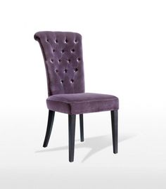 Fabulous violet dinging chairs by SLYDE Linen Dining Chairs, One Bedroom Apartment, Furniture, Home Decor, Decoration Home, Room Decor, Home Furnishings, Home Interior Design, Home Decoration