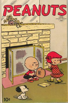 1953 Peanuts vintage comic book with Charlie Brown and Snoopy Peanuts Gang, Peanuts Comics, Peanuts Cartoon, Charlie Brown Y Snoopy, Snoopy Love, Snoopy And Woodstock, Vintage Cartoon, Vintage Comics, Comic Book Covers