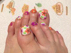 myfootnail☆ flower
