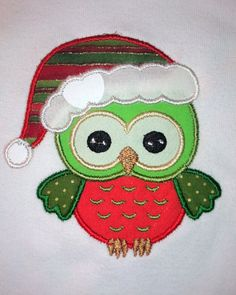 Merry Christmas Owl Customizable Baby Infant Boy by DarlingPeaches