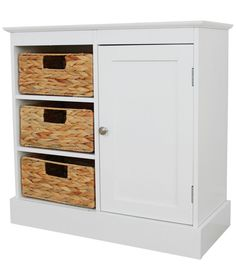 Buy Hadley Wide Floor Cabinet With 3 Drawers And 1 Door White At Argos
