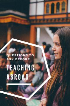 5 Questions to ask yourself before you decide to teach abroad. If you're thinking of becoming an expat, answer these questions before deciding if teaching abroad is right for you. #teaching #teacherabroad #education