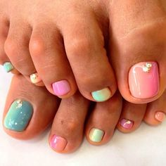 31 Adorable Toe Nail Designs For This Summer - 101 NailDesign