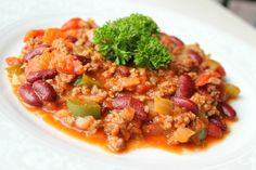 Chili con carne. So healthy and so yummy!