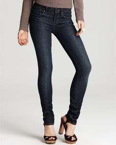 Lou Skinny Jeans in Bergen Wash - Lyst