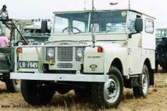 vintage land rover  | Old Lazarus ,a 1949 Land-Rover series one (S1) was present at Cooma ...