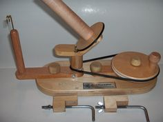 Yarn Ball Winder by Wood That It Whir by WoodThatItWhir on Etsy