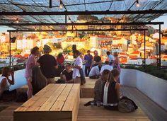 TOPO is a new lisbon' roof top bar, Lisbon, Portugal - via lisbonlux