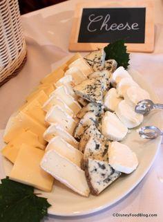 Cheese Display Parisian Breakfast