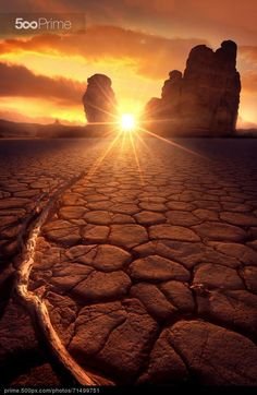 Warm Sunset - stock photo