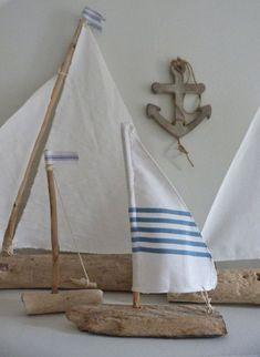 ideas para decorar con madera recogida del mar bohemian and chic