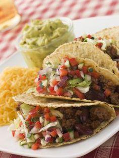 Como fazer tacos de carne   #mexicano #ComidaRapida #CozinhaInternacional