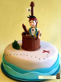 torta con Jake il Pirata