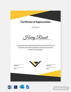 Instantly Download Editable Employee Appreciation Certificate Template, Sample & Example in Microsoft Word (DOC), Adobe Photoshop (PSD), Google Docs Format. Available in A4 & US Sizes. Quickly Customize. Easily Editable & Printable. Wedding Invitations Examples, Invitation Examples, Free Printable Invitations Templates, Free Business Card Templates, Certificate Of Completion Template, Certificate Templates, Santa Letter Template, Letter Templates, Certificate Of Appreciation