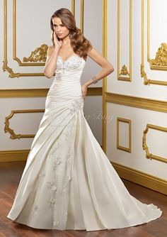 Google Image Result for http://www.wedding-buy.com/media/watermark/company/wedding-dresses/a-line/2/1/Dramatic-Sweetheart-satin-wedding-gowns-with-handmade-sewing-beads-and-Embroidery-lace-a-line-2-1-128.jpg