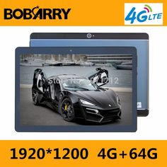 BOBARRY T900 10.1 inch tablet PC Android 7.0 Phone call 3G 4G LTE octa core RAM 4GB ROM 64GB 1920x1200 IPS Dual SIM tablets Pcs #Affiliate Bluetooth, Pc Android, Tablet 10, Dual Sim, Phone, Cards, Gift, Telephone, Mobile Phones
