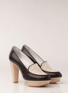 03f52b2e480 Karen Walker for Beau Coops oxford loafer.