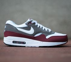 "Nike Air Max 1 Essential ""Burgundy"" / Follow My SNEAKERS Board!"
