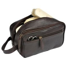 Buckingham Leather  Washbag
