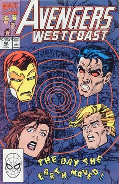 Vibro attacks the city of Los Angeles with massive earthquakes and West Coast Avengers respond. Featured Characters: Avengers West Coast Dr. Henry Pym Wonder Man (Simon) Wasp (Jan) Iron Man, Dr. Henry Pym, Wonder Man (Simon), Wasp (Jan), Iron Man