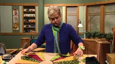 "The title of this Sewing with Nancy episode is ""Sew Grand Dresden Quilts."" Nancy Zieman demonstrates how to make Dresden Plate quilt designs small, to a supe. Quilting 101, Quilting Tutorials, Quilting Designs, Sewing Tutorials, Quilting Ideas, Sewing Tips, Sewing Hacks, Sewing Ideas, Sewing Projects"