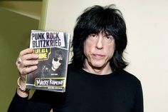 Marky Ramone presents his book Punk Rock Blitzkrieg: My Life as a Ramone in Philadelphia in the United States.