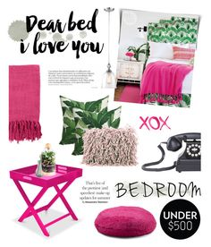 """Upgrade Your Bedroom With $500"" by samanthasade ❤ liked on Polyvore featuring interior, interiors, interior design, home, home decor, interior decorating, Surya, Dot & Bo, Mina Victory and GALA"