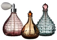 Adorable perfume bottles from IKEA.