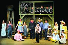 set and costuming - Charlotte's Web.